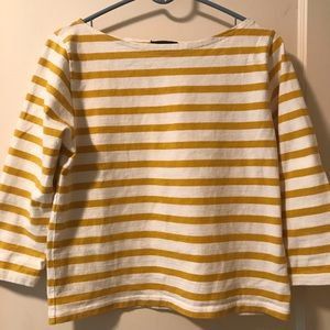 J Crew Cotton Knit Top Size 4